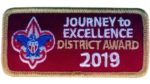 JTE Gold Dist. Award 2019